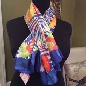 New Beautiful Tropical Scarf